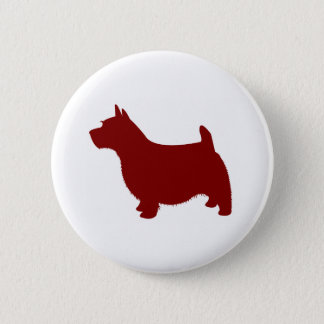 Norwich Terrier 6 Cm Round Badge