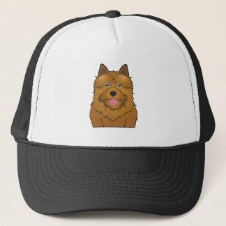 Norwich Terrier Cartoon Trucker Hat