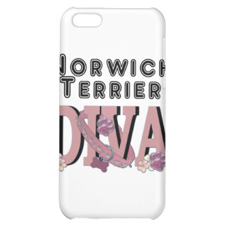 Norwich Terrier DIVA iPhone 5C Cover