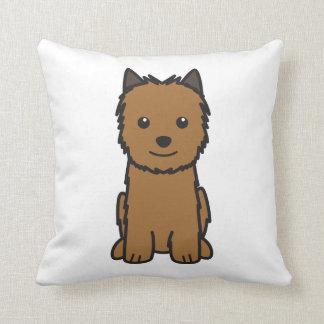 Norwich Terrier Dog Cartoon Cushion