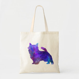 Norwich Terrier in watercolor Tote Bag