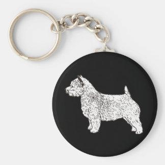 norwich_terrier key ring