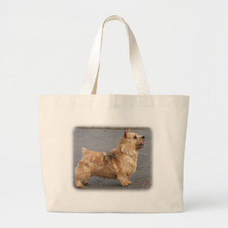 Norwich Terrier Large Tote Bag