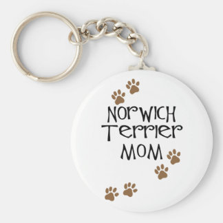 Norwich Terrier Mom for Norwich Terrier Dog Moms Key Ring