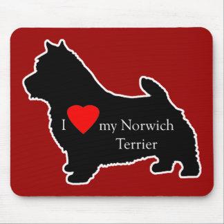 Norwich Terrier Mouse Mat