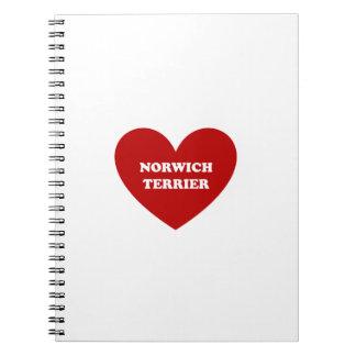 Norwich Terrier Notebook