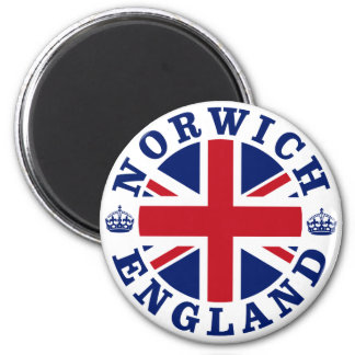 Norwich Vintage UK Design Magnet
