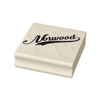 Norwood Ohio Rubber Stamp