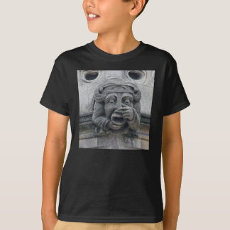 Nose-and-mouth gargoyle shirt