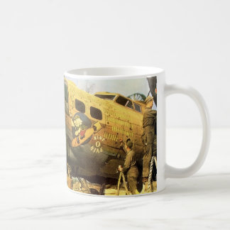 nose art mug