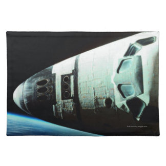 Nose of a Space Shuttle Placemat