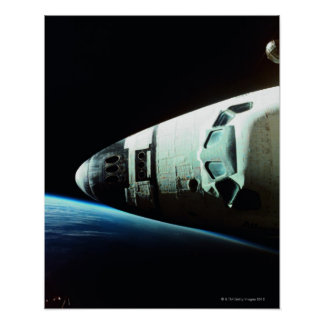 Nose of a Space Shuttle Poster