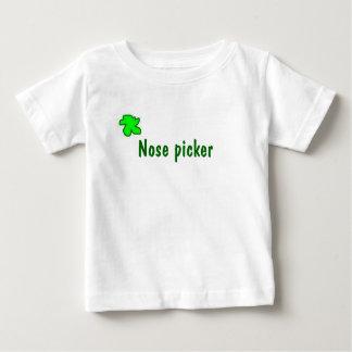 Nose picker shirt