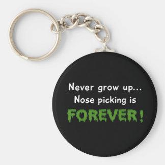 Nose Picking Forever Key Ring