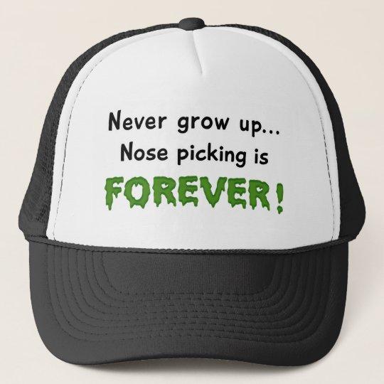 Nose Picking Trucker Hat