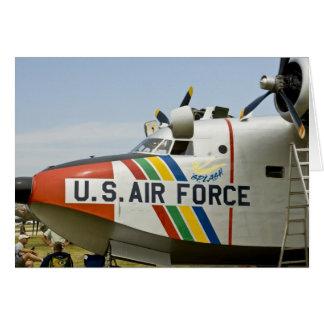 Nose section Air Force Grumman HU-16B Greeting Card