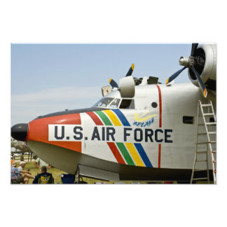 Nose section Air Force Grumman HU-16B Photo Print