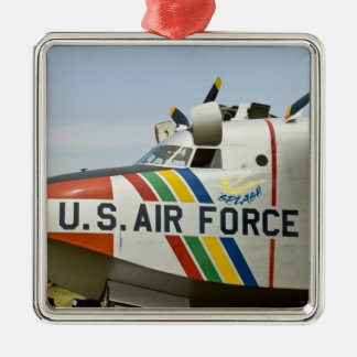 Nose section Air Force Grumman HU-16B Silver-Colored Square Decoration