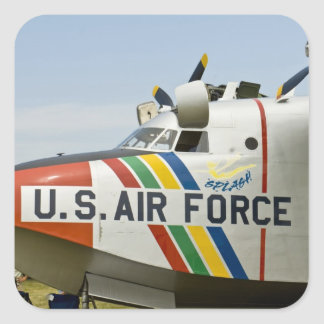 Nose section Air Force Grumman HU-16B Square Sticker