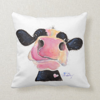 Nosey Cow 'Jammie Jessie' Throw Cushion