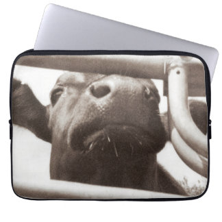 Nosey Cow Laptop Sleeve