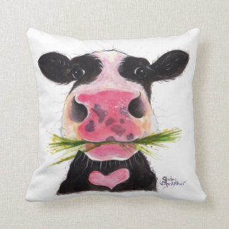 Nosey Cow ' ROCKY ' Soft Throw Pillow Cushion