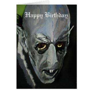 'Nosferatu' Birthday Card