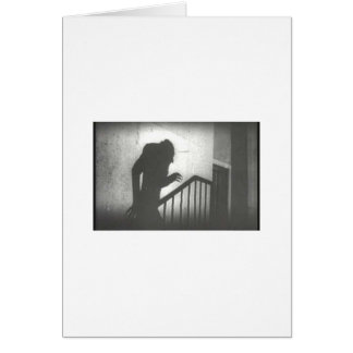 Nosferatu Crawling the Stairs Cards