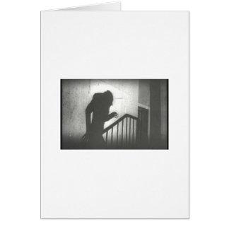 Nosferatu Crawling the Stairs Cards