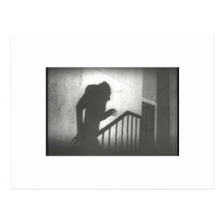 Nosferatu Crawling the Stairs Postcards