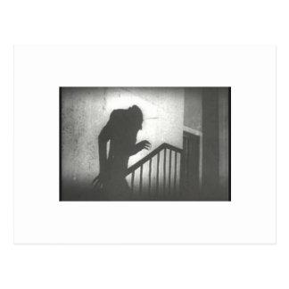 Nosferatu Crawling the Stairs Postcards