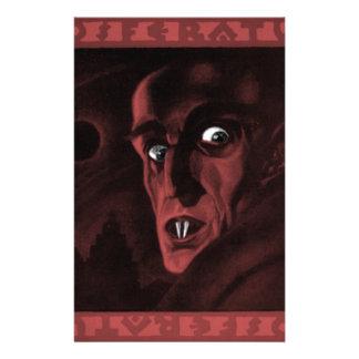 Nosferatu! Personalized Stationery