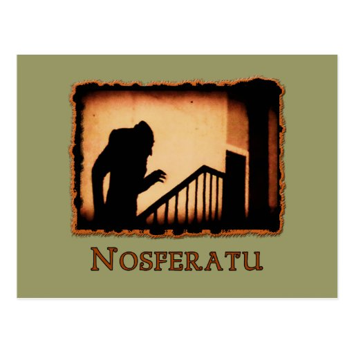 Nosferatu Scary Vampire Products Post Card