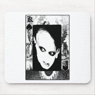Nosferatu the playing card mouse pad