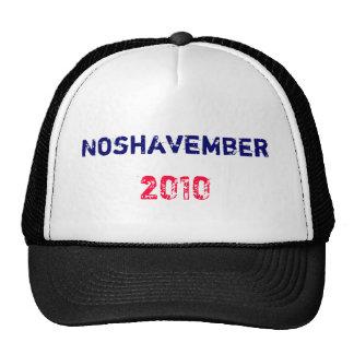 Noshavember , 2010 cap