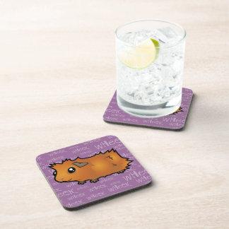 Nosiy Guinea Pig (scruffy) Coaster