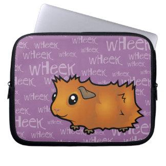 Nosiy Guinea Pig (scruffy) Laptop Sleeve