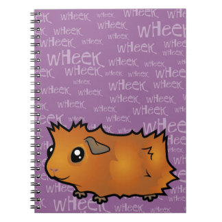 Nosiy Guinea Pig (scruffy) Notebooks