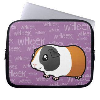 Nosiy Guinea Pig (smooth hair) Laptop Sleeve
