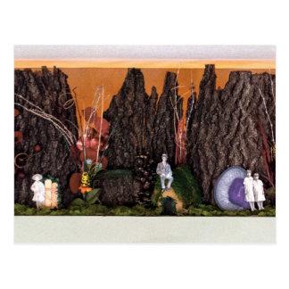 Nostalgia Garden | Enchanted Alcove 501 Postcard
