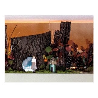 Nostalgia Garden | Enchanted Alcove 502 Postcard