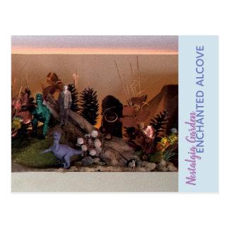 Nostalgia Garden | Enchanted Alcove 503 Postcard
