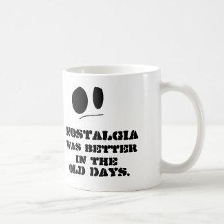 Nostalgia Basic White Mug