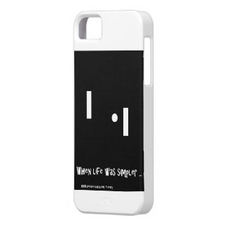Nostalgia Technology iPhone 5 Cover