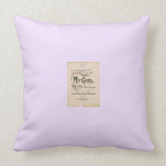 Nostalgia Throw Cushions
