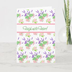 Scottish gaelic cards zazzle uk nostalgic floral scottish gaelic greeting get well card m4hsunfo