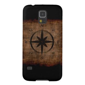 Nostalgic Old Compass Rose Design Galaxy S5 Case
