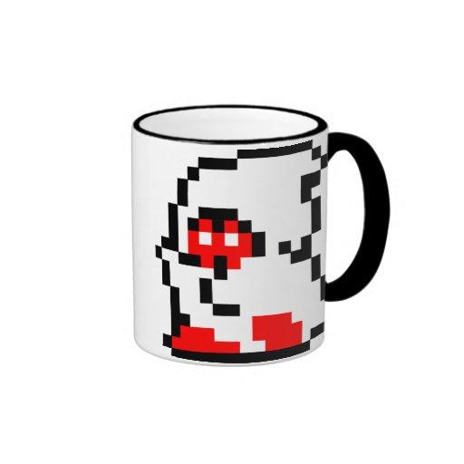 Nostalgic Pixel NES Ghost Mug
