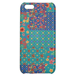 Nostalgic Prints Faux Patchwork iPhone 5c Case