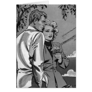 Nostalgic Romance Card